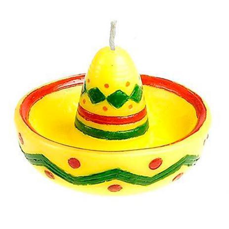 Vela Mexicana Sombrero - Festabox - Vela Halloween - Magazine Luiza bbbf099990f