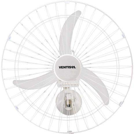 Imagem de Ventilador De Parede Comercial 60cm Bivolt New Premium Branco Ventisol.