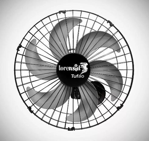 Imagem de Ventilador de Parede Tufão 50cm 6 Hélices Bivolt