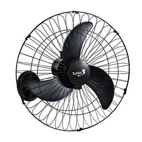 Imagem de Ventilador de Parede Tufão 60 cm Preto Bivolt -LOREN SID