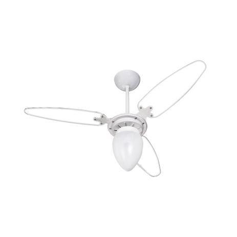 Imagem de Ventilador De Teto 3 Pás Wind Light Transparente Ventisol