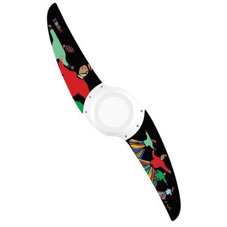 Ventilador de Teto Spirit Wind 203 LED Dream Big Istambul DB09