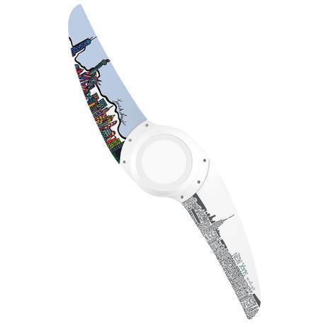 Ventilador de Teto Spirit Wind 203 LED Dream Big Nova York DB13