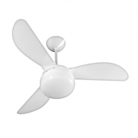 Imagem de Ventilador de Teto Ventisol Fenix Branco 3 Velocidades Premium - 127v