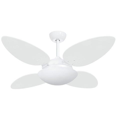 Imagem de Ventilador de Teto Volare Premium VR42 Pétalo/4 VR Lux Branco