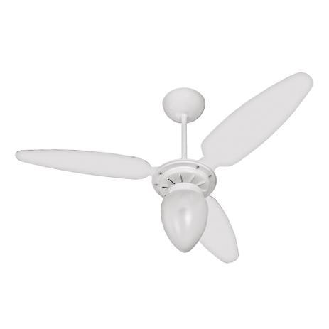 Imagem de Ventilador de Teto Wind com Lustre 3 pás INJ/Branco CV3 Ventisol