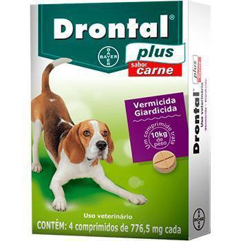 Imagem de Vermifugo Drontal Caes 10kg - Bayer