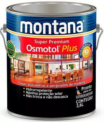 Imagem de Verniz Osmotol Plus Acetinado Canela Montana 3,6 Litros