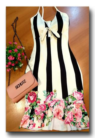 cfd1c73a3f Vestido Feminino Estampas Exclusivas e Lindas Moda Roupas Femininas - Bellucy  modas