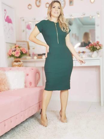 d29572cc32c1 Vestido Feminino Evangélico Lindo Moda Roupas Femininas - Bellucy modas
