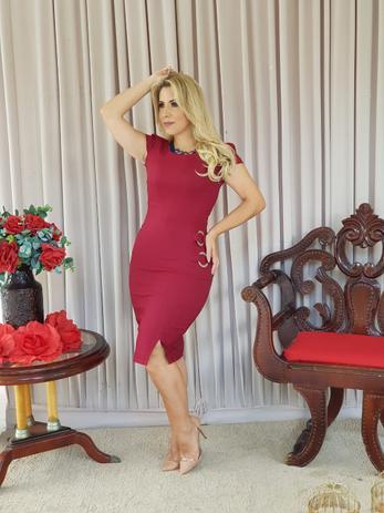 Imagem de Vestido Feminino Moda Evangélica Roupas Femininas