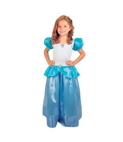 90094fc702f624 Vestido Festa Fantasia Princesa Cinderela Infantil - Brink model