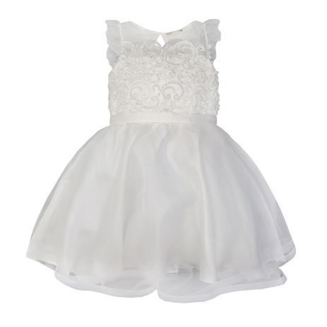 c2f1327f32c Vestido Festa Petit Cherie Tule e Renda Bordada - Vestido Infantil ...