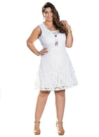 Vestido Formatura Em Renda Plus Size Casamento Rendado Noiva Festa Civil Shoopweb
