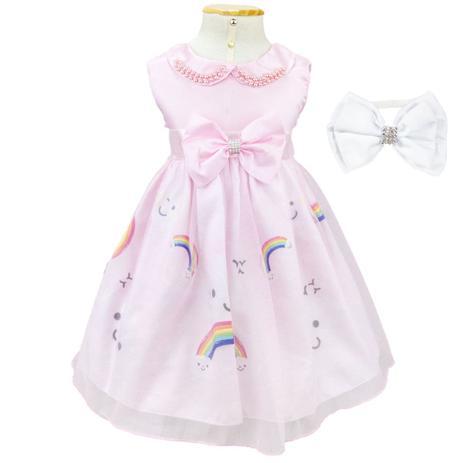 b5db974c2e Vestido Infantil Chuva de Amor Com Tiara - Fantasias carol gi ...