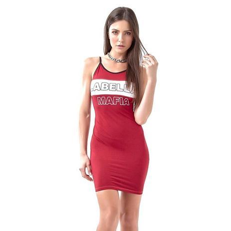Comfort Vermelho Comfort Vermelho Vestido Genesis Genesis Vestido Labellamafia Labellamafia tdxBoQrshC