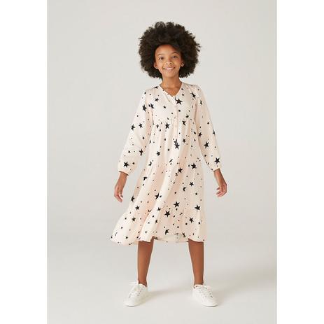 Imagem de Vestido Midi Infantil Menina Em Tecido De Viscose