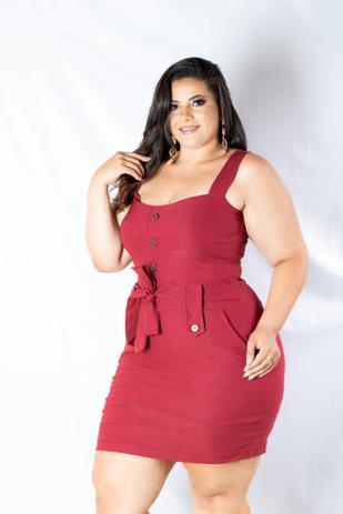 6e9366809586 Vestido Plus Size Botão Lindo Moda GG Roupas Femininas - Bellucy modas