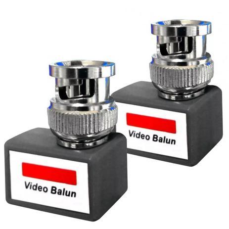 Imagem de Vídeo Balun Passivo Kit Com 2 Unidades 90 5006 - DNI