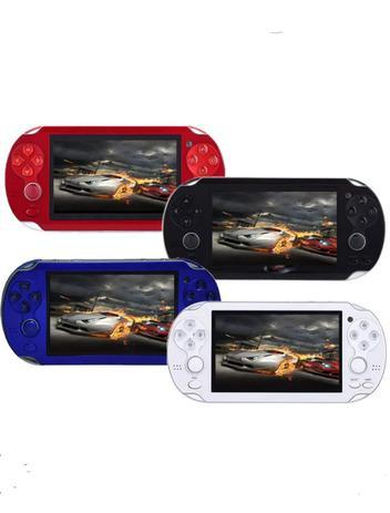 Vídeo Game Pmp Portátil 2 Analógico Centenas De Jogos 8gb Roms Gba Nes Gbc  Player Mp3 Mp5 Fm - Gold imports