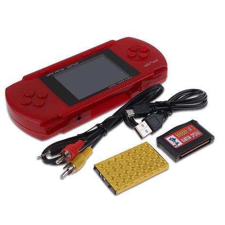 Imagem de Video Game Psp PVP Game Boy Portátil Digital Vermelho