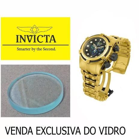 4ae9609306c Vidro Compatível para Relógio Invicta Reserve Bolt Zeus 12741 - Oficina dos  relógios