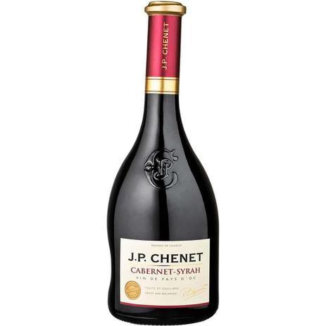 Imagem de Vinho Francês Cabernet Syrah Tinto Garrafa 750ml - J.P Chenet