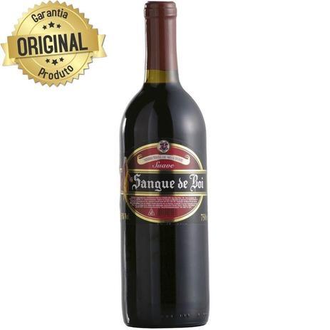 ebd11e743 Vinho Nacional Tinto Suave Garrafa 750ml - Sangue de Boi - Vinho ...
