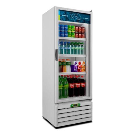 Imagem de Visa Refrigerador Expositor Geladeira Multiuso Bebidas Metalfrio 350 Litros VB40R 127V