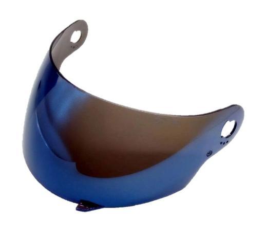 Imagem de Viseira Azul Iridium Capacete Pro Tork 788 Evolution G3/G4/G5/G6/G7/G8 Anti Risco 2.2mm Polivisor