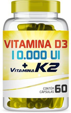 Imagem de Vitamina K2 100mcg + Vitamina D3 10.000UI 60 cápsulas