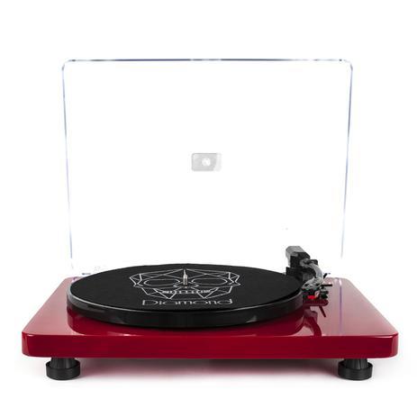 Vitrola Toca Discos Diamond Vermelha Agulha Japonesa com software de gravação  para MP3 Echo Vintage 1fe50a0aa1b
