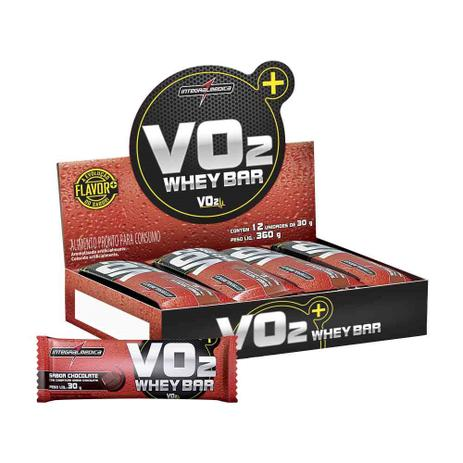 Imagem de Vo2 protein bar 12 unidades - chocolate
