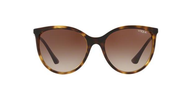 Vogue VO5221SL W65613 Tartaruga Ouro Lente Marrom Degradê Tam 55 ... c253876d4d