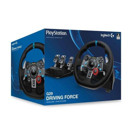 78a60ad0072 Volante Logitech Driving Force G29 - PS4, PS3 e PC - Controles PS4 ...