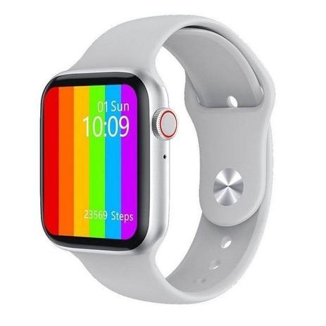Imagem de W26 Relógio Inteligente SmartWatch Series 6, com Tela Total 1.75, Branco