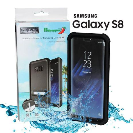 on sale 8dfe2 38dba Waterproof Capa Prova Dágua Samsung Galaxy S8+ S8 Plus IP68 - Willhq