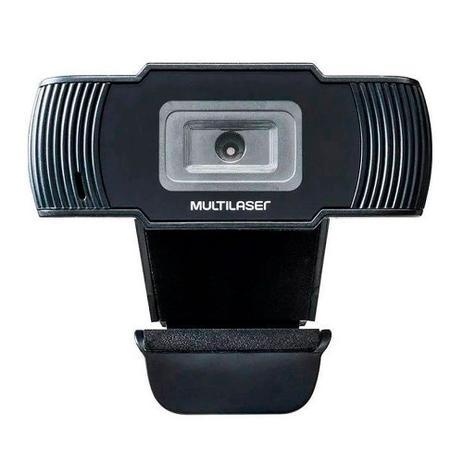 Imagem de Webcam Multilaser 1280x720 30fps Cabo 1,7m Usb 2.0 Ac339