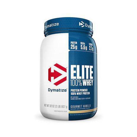 Imagem de Whey Elite 100 Protein (2lb) 907g Gourmet Vanilla - Dymatize Nutrition