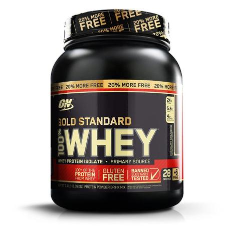 Imagem de Whey Protein 100% Whey Gold Standard 20% More FREE 1.09kg - Optimum Nutrition