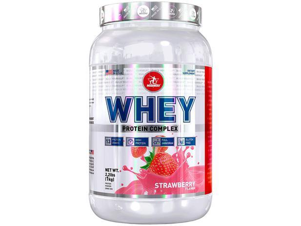 Imagem de Whey Protein Complex 1kg - Strawberry - Midway