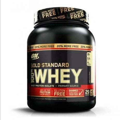 Imagem de WHEY PROTEIN GOLD STANDARD 100% 1,09KG (2,4 LBS) - OPTIMUM NUTRITION - Vanilla ice cream
