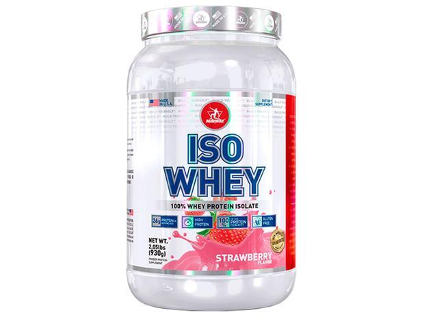 Imagem de Whey Protein Isolado Iso Whey Usa Strawberry 930g - Midway