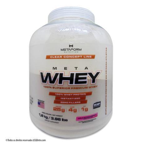 ff94d16e4 Whey Protein Meta Whey 1800g Metaform Suplemento Alimentar - Nutrial ...