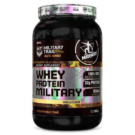 Imagem de Whey protein military 900 g - midway (baunilha)