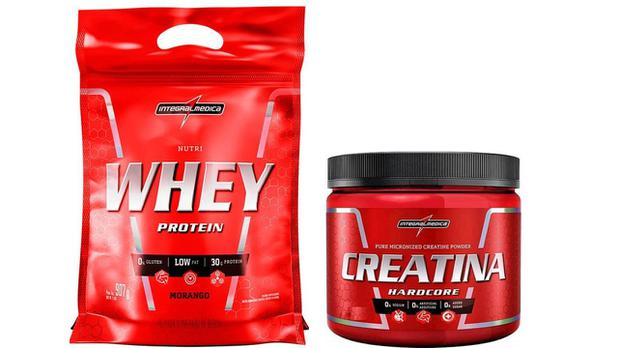Imagem de Whey Protein Nutri Whey 900g + Creatina 150g Integralmedica