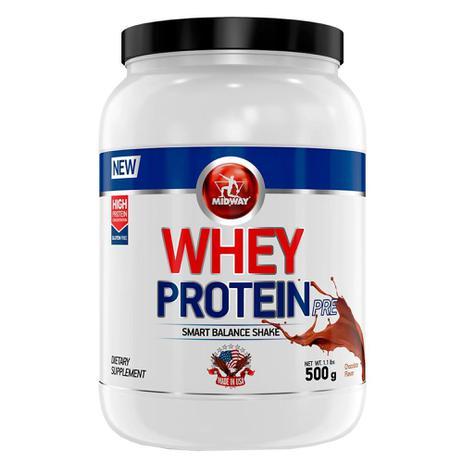 Imagem de Whey Protein Pre Chocolate - Suplemento Proteico em Pó - Midway