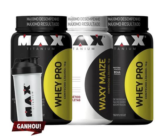 2e9e259e2 Whey Protein + Waxy Maze - Max Titanium - Whey Protein - Magazine Luiza