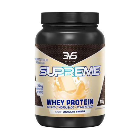 Imagem de Whey supreme 900 g - 3vs (chocolate branco)