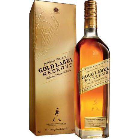 Imagem de Whisky Escocês Johnnie Walker Gold Label Reserve Garrafa 750ml